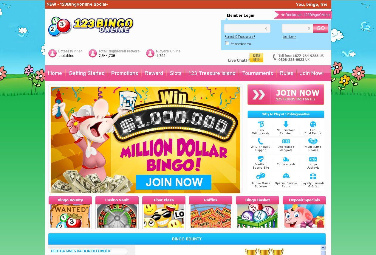 123 bingo online no deposit codes 2015